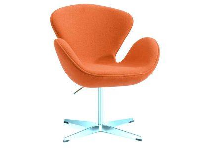Silla Sidney color naranja