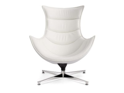 Retro Style Chair Blanco