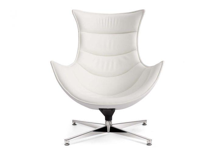 Retro Style Chair Blanco