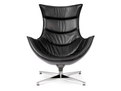 Retro Style Chair Negro