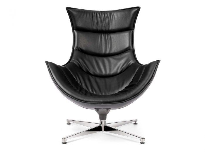 Retro Style Chair Negro
