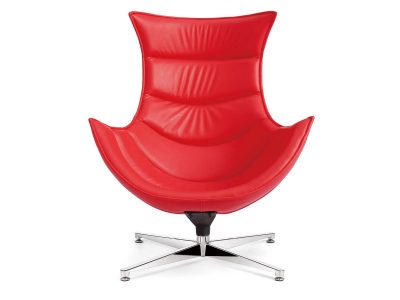 Retro Style Chair Rojo
