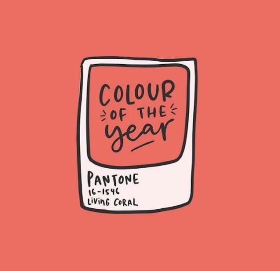 living coral es el color del año pantone